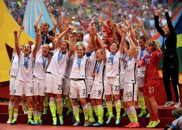 Футболистки сборной США