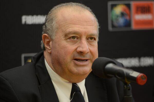 Президент Международной федерации баскетбола (FIBA) Орасио Мураторе
