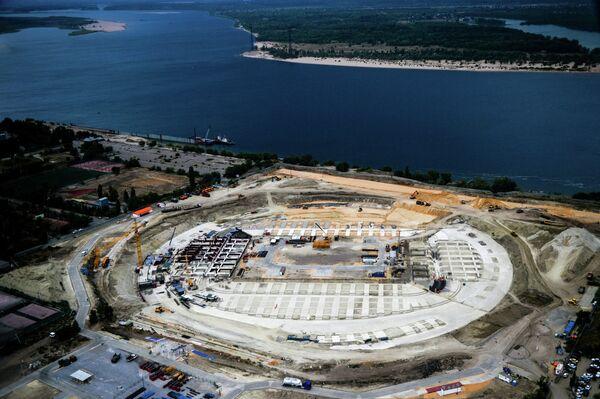 Строительство стадиона в Волгограде к ЧМ-2018