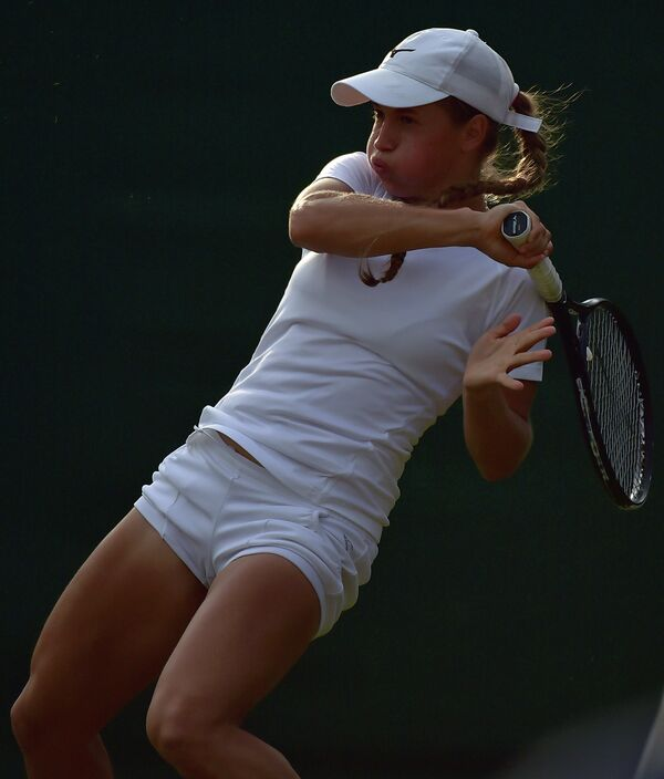 Казахская теннисистка Юлия Путинцева