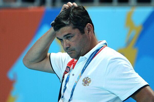 Главный тренер мужской сборной России по водному поло Эркин Шагаев