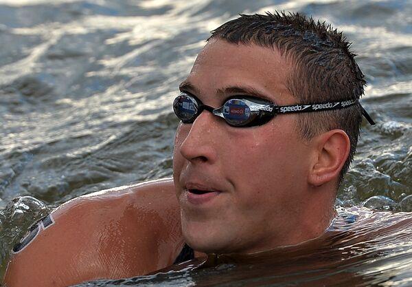 Российский пловец Сергей Большаков