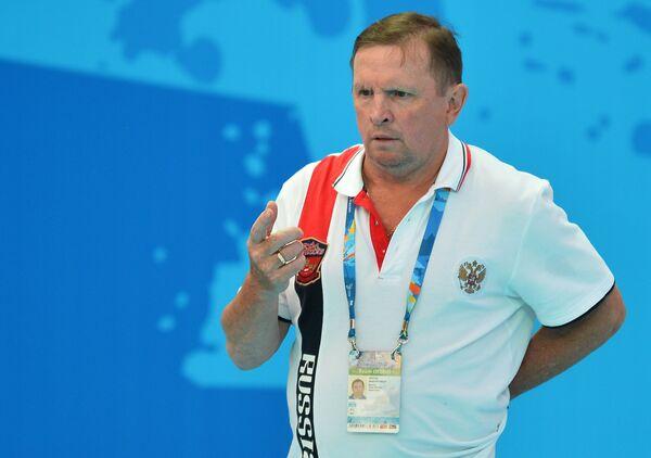 Главный тренер сборной России по водному поло среди женщин Михаил Накоряков