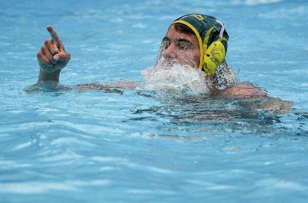 Игрок сборной Австралии по водному поло Айдан Роуч