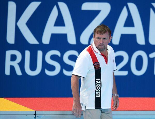 Главный тренер сборной России Михаил Накоряков