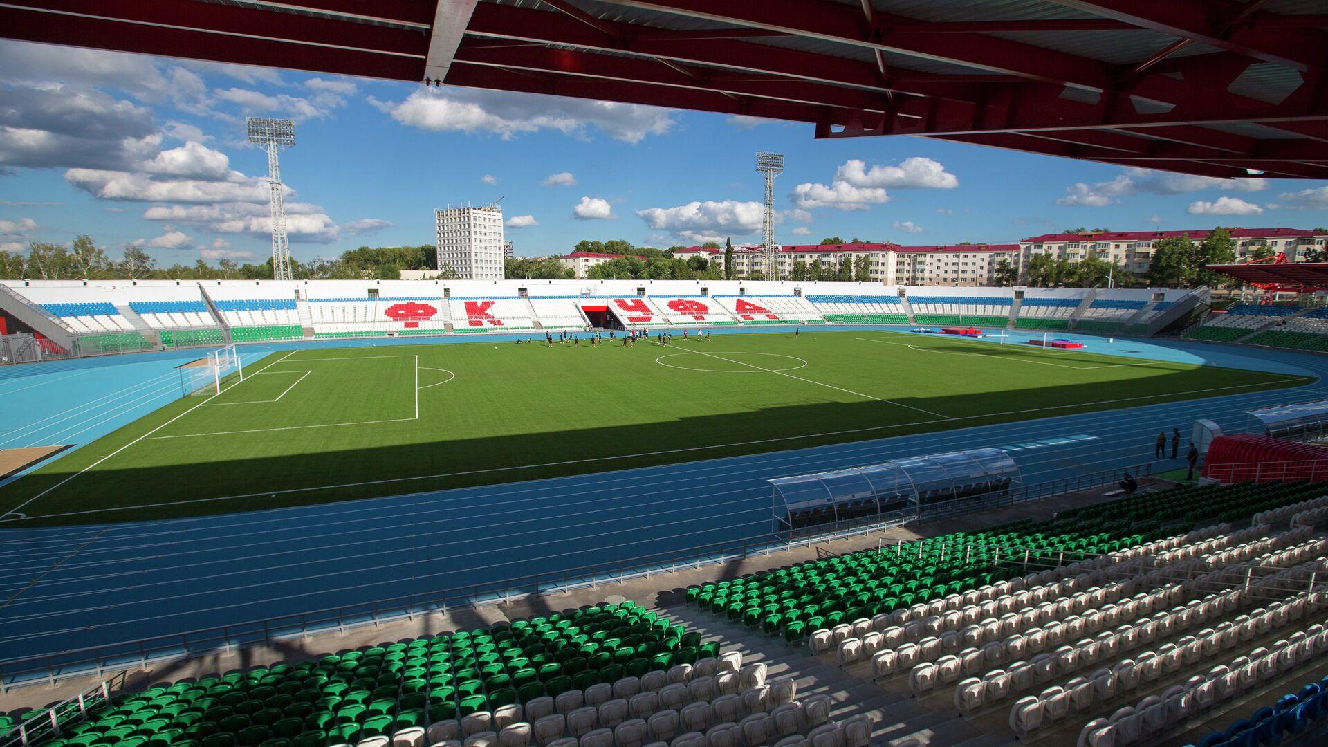 Подготовка к открытию стадиона Нефтяник в Уфе - РИА Новости, 1920, 15.04.2021