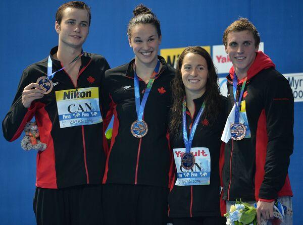 Спортсмены сборной Канады