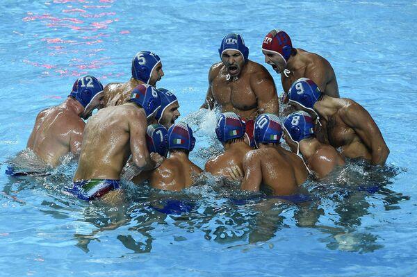 Игроки сборной Италии по водному поло