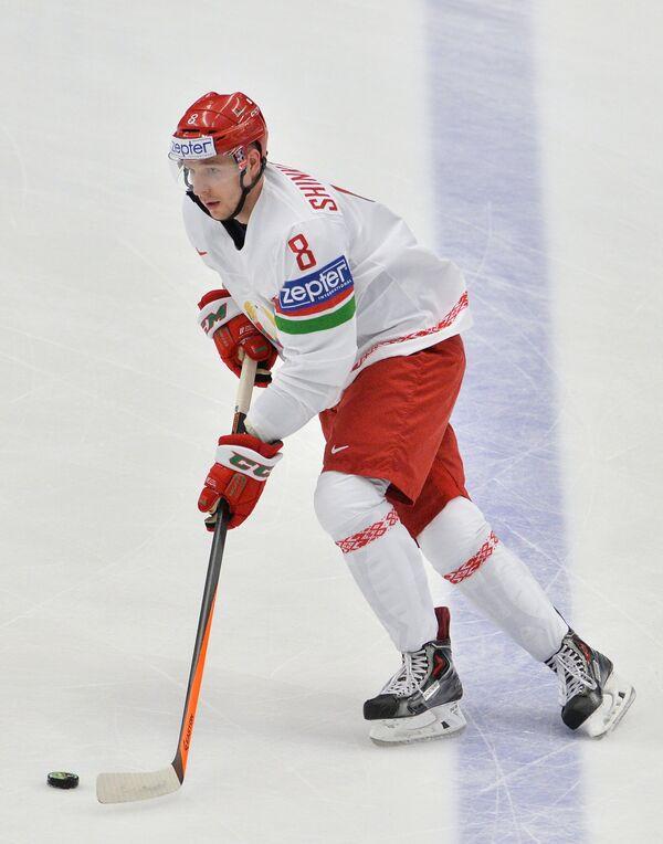 Защитник сборной Белоруссии по хоккею Илья Шинкевич