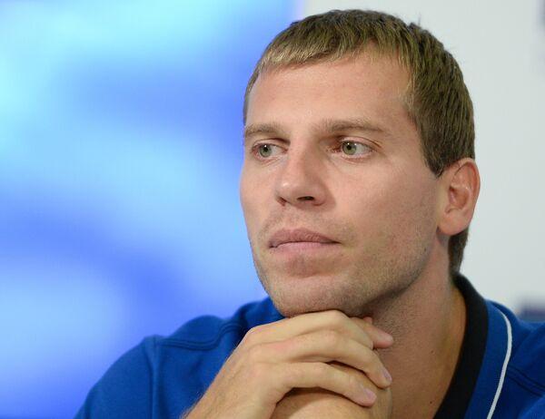 Защитник сборной России по баскетболу Сергей Моня