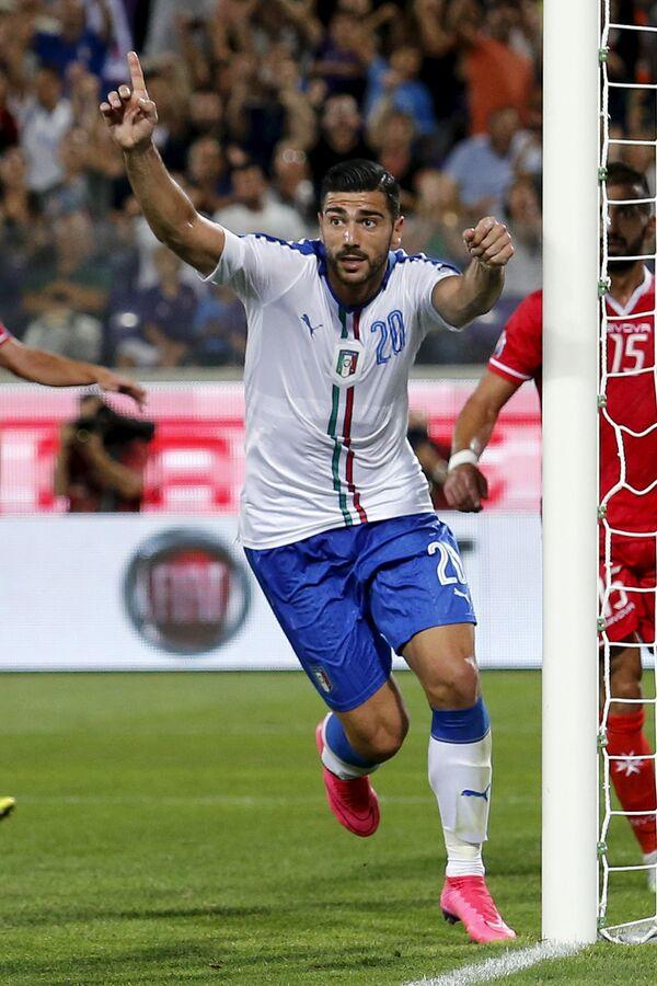 Нападающий сборной Италии и английского Саутгемптона Грациано Пелле