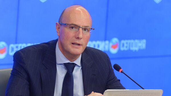 Президент Континентальной хоккейной лиги Дмитрий Чернышенко