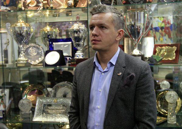 Руководитель МФК Спартак Игорь Снежницкий