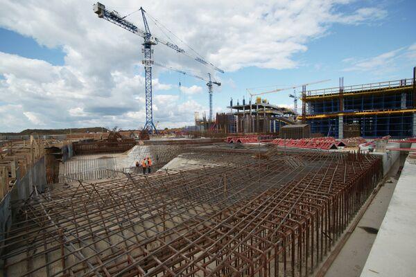 Строительство стадиона в Самаре к ЧМ-2018