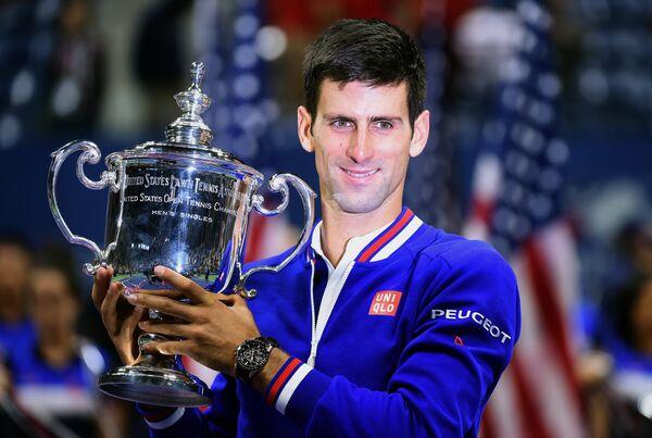 Новак Джокович - победитель US Open-2015
