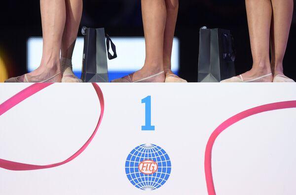 Логотип Международной федерации гимнастики
