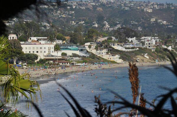 Калифорнийское побережье в Лос-Анжелесе