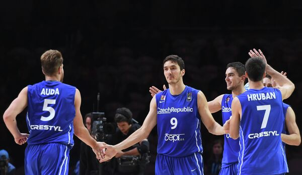 Баскетболисты сборной Чехии