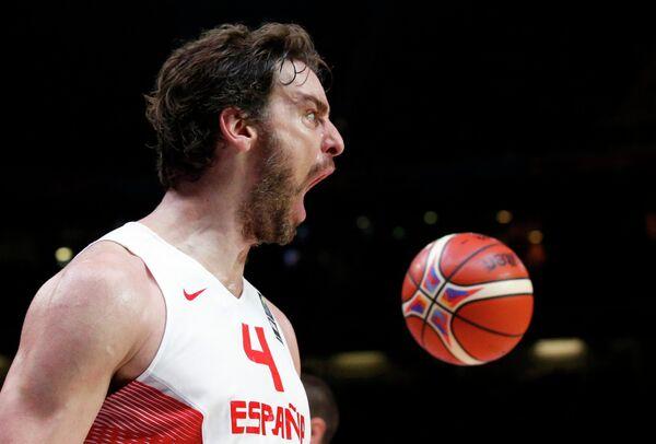 Баскетболист сборной Испании По Газоль