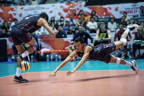 Волейболисты сборной США