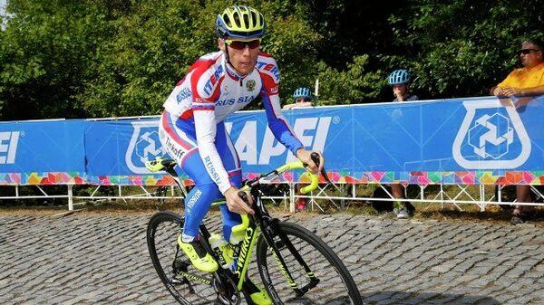 Павел Брутт в составе сборной России по велоспорту на ЧМ в Ричмонде