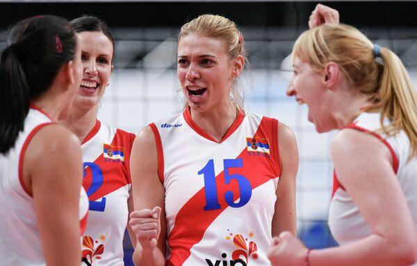 Сербские волейболистки