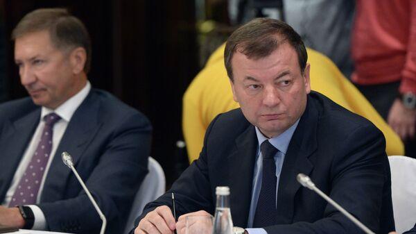 Президент Единой Лиги ВТБ Сергей Кущенко