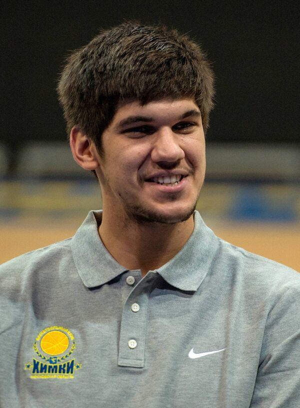 Марко Тодорович на презентации БК Химки сезона 2015/2016