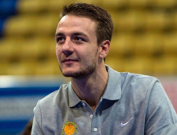 Станислав Ильницкий на презентации БК Химки сезона 2015/2016