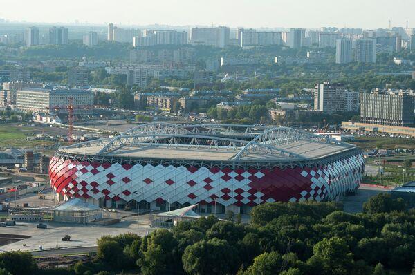 Виды стадиона Открытие Арена в Москве
