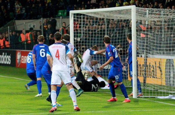 Гол в ворота сборной Молдавии