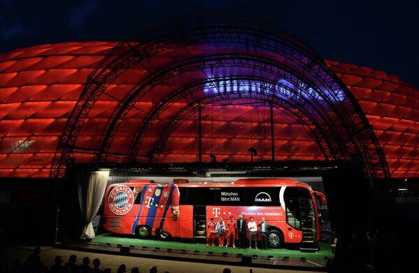Автобус мюнхенской Баварии