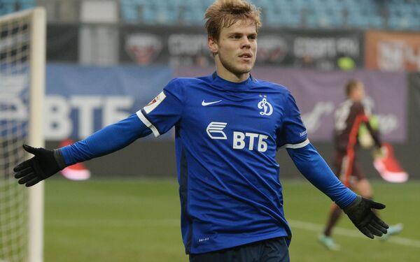 Нападающий Динамо Александр Кокорин