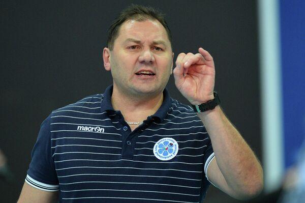 Главный тренер ВК Динамо-Казань Ришат Гилязутдинов