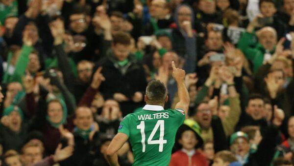 Нападающий сборной Ирландии Джонатан Уолтерс