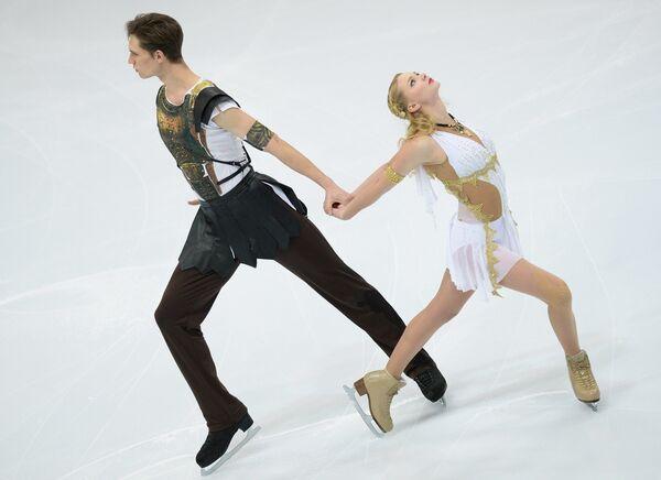 Виктория Ковалева и Юрий Беляев