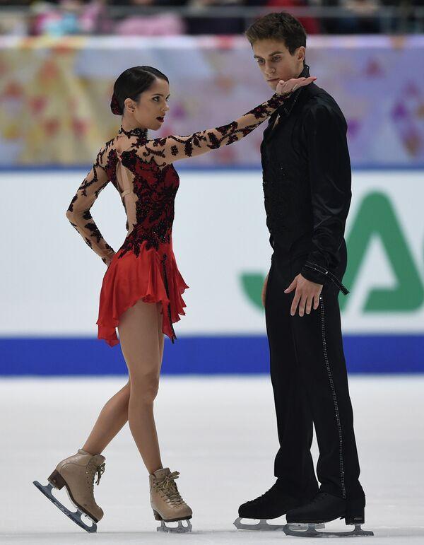 Российская пара Вера Базарова и Андрей Депутат