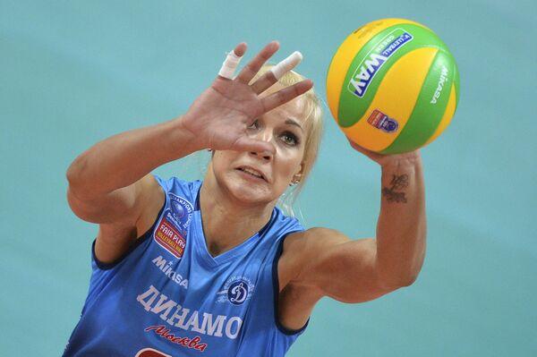 Доигровщица Динамо Анастасия Бавыкина