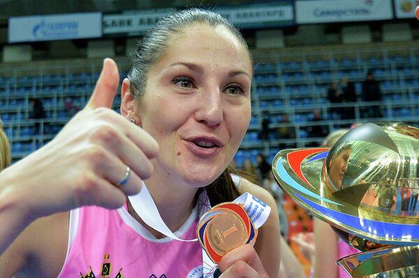 Доигровщица ВК Динамо (Краснодар) Татьяна Кошелева