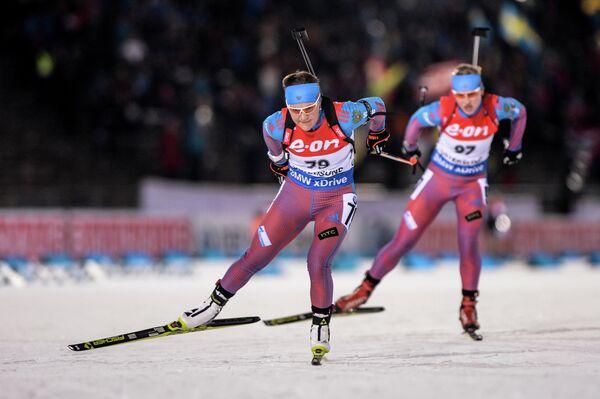 Екатерина Юрлова (Россия) и Анна Никулина (Россия) (слева направо)