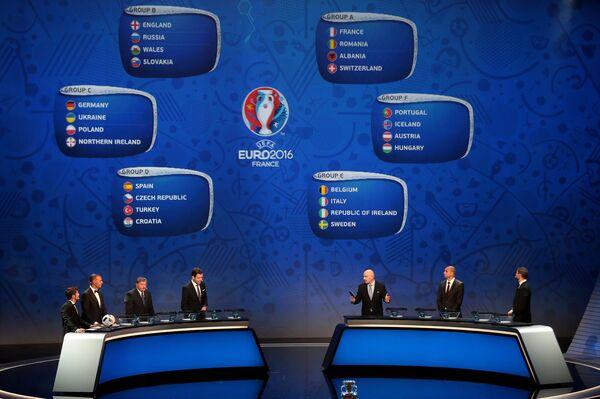 Итоги жеребьевки чемпионата Европы 2016