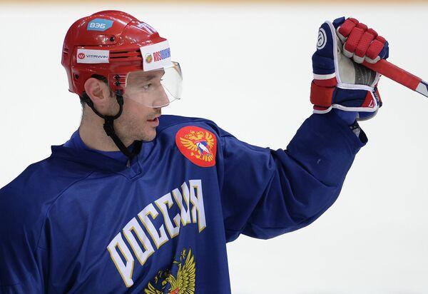 Форвард сборной России по хоккею Илья Ковальчук
