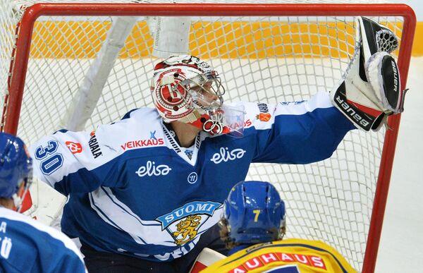 Вратарь сборной Финляндии Харри Сятери