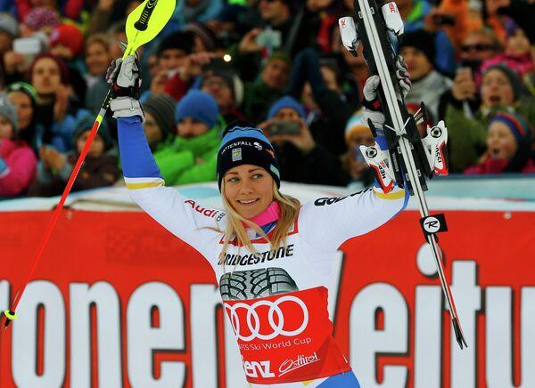 Шведская горнолыжница Фрида Хансдоттер