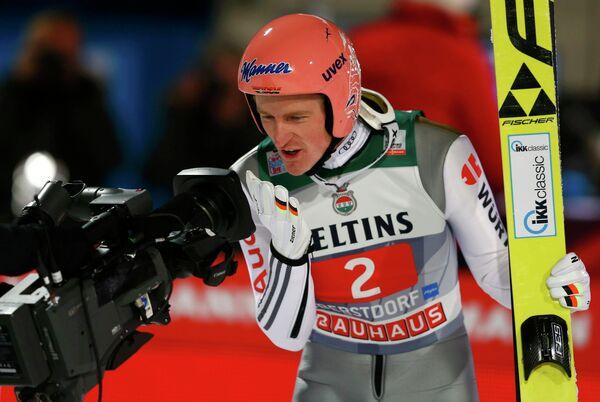 Летающий лыжник Зеверин Фройнд