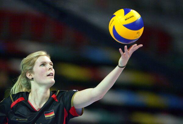 Волейболистка сборной Германии Аня Брандт
