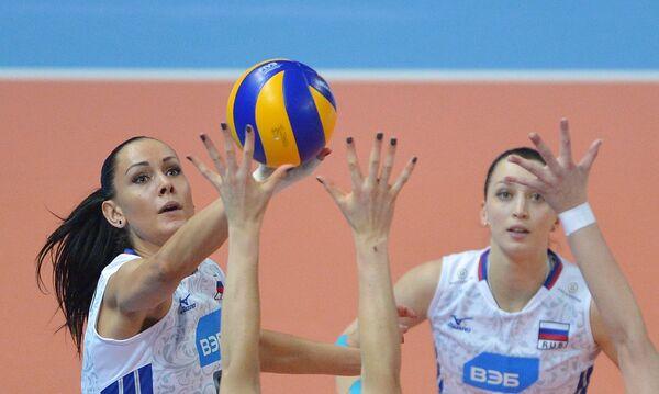 Наталия Гончарова (слева) и Евгения Старцева