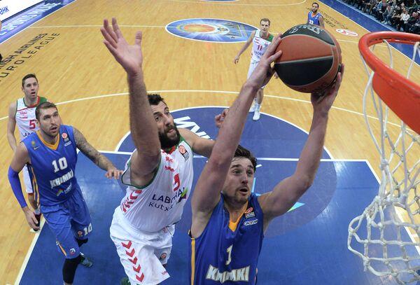 Алексей Швед и Яннис Бурусис (справа налево)