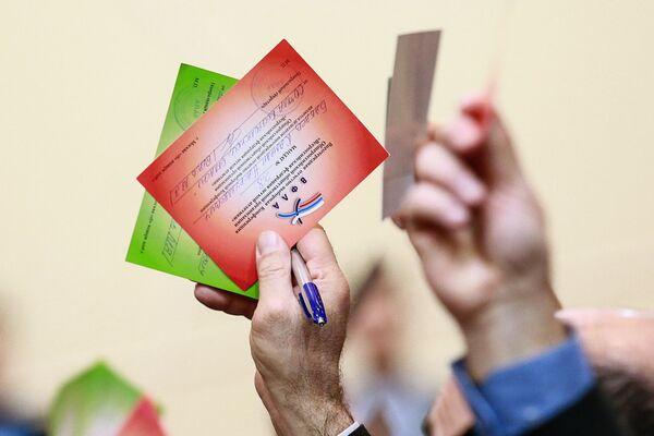 Мандаты делегатов на внеочередной отчетно-выборной Конференции Всероссийской федерации легкой атлетики (ВФЛА)