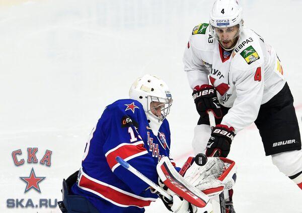Микко Коскинен (слева) и Кирилл Лебедев